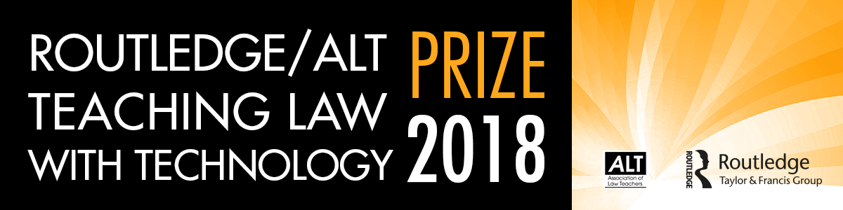 Routledge/ALT Teaching Law with Technology Prize 2018 Winner - Dr Maria Tzanou