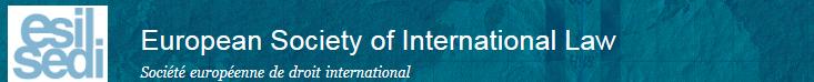 International Law for ESIL 2016